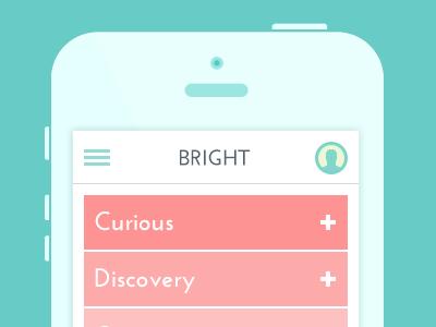 Visual Study - Engaging design thinking visual study branding app playful colorful ui