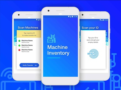Machine Inventory Application UX