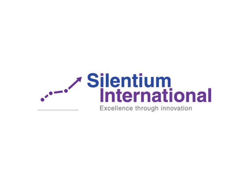Silentium International Logo branding logo