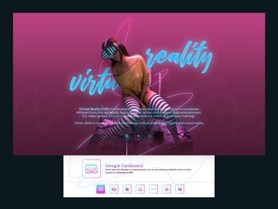 Virtual Reality Simulation Web