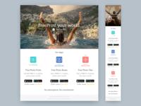 FreePrint Your World Landing Page