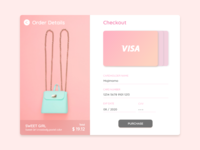 DailyUI#002 - Credit Card Checkout