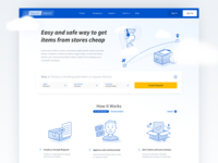 Forwarding Service Landing Page