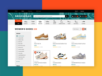 Product Page for Online Sneaker Store