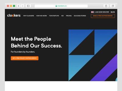 Outsourcing Development Company - Landing Page technology website design web design illustration homepage digital marketing website ui software development corporate  design company website