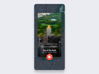 Day trip to Manhattan mafengwo pin motion ux travel iphone map earth