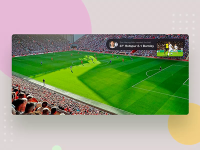 PPS Player 's Picture in picture picture video user interface user experience iphone suning player soccer app football live iphonex