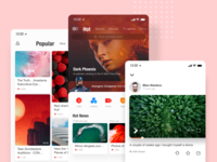 Video app's UI kits