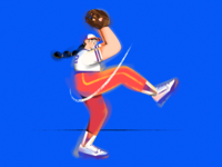 F.(Baseball girl)