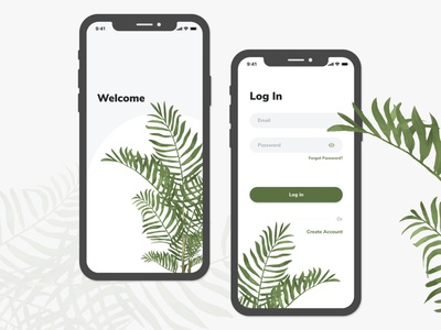 Login Screen mobile app login page 001 wireframe dailyui adobe xd