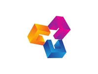 Geometra - Abstract Rotation Logo