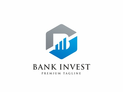 Bank Invest B Letter Logo hexagon gaming expert entertainment development design cubical cubic cube corporate consulting consultant business branding brand brainstorm box b logo b letter b