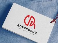 Rovergrou R Letter Logo