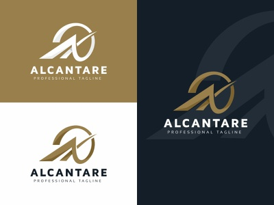 Alcantare A Letter Logo Template professional media logotype logo letter design corporate company commercial business branding brand app active actions action abstract a sing a letter logo a