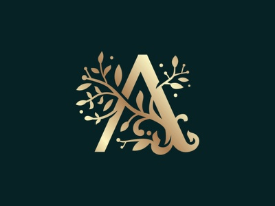 Decorative A Letter Elegant Logo ornament luxury luxurious logo insignia jewellery insignia initial imperium hotel furniture fashion crest clothing business classy boutique badge logo apparel a letter app