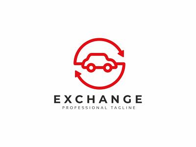 Exchange Auto Logo sell rent profit modern market garage forum exchange customize customizable customer company car buy business branding brand bid automobile auto auction