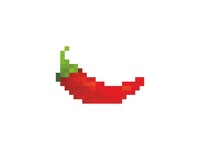 Chili Pixel Logo