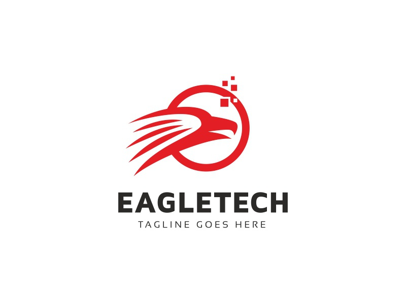 Eagle Logo Template by iRussu on Dribbble