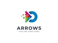 Arrows Pixel Logo