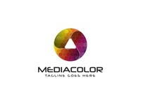 Play Media Color Logo