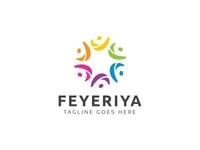 Feyeriya - Happy Human Logo