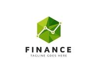 Finance Hexagon Logo