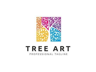 Tree Art Logo