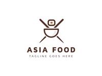 Asia Food Logo