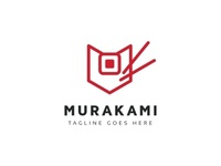 Murakami M Logo