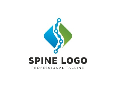 Spine Logo spine specialist special service neck modern medicine medical hospital health service health logo health doctor consultant clinic chiropractor chiropractic bones bone back