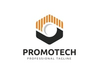 Promotech - Hexagon Logo