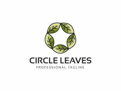 Circle Leaves Logo