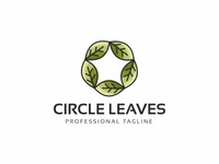 Circle Leaves Logo