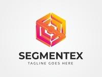 Segmentex S Letter 3D Logo