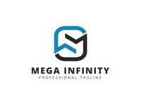 M Letter - Mega Infinity Logo
