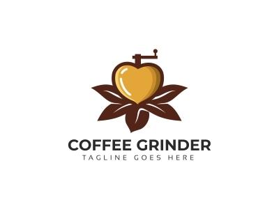 Coffee Grinder Logo