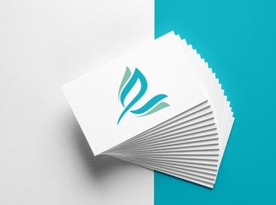Eco life E Letter Logo