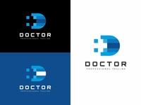 Doctor D Letter Logo