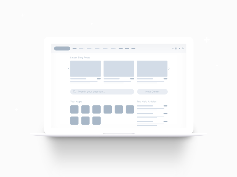 Community Help Center Wireframe thinking user experience ux community salesforce wireframe