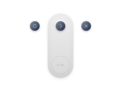 Controller minimalism simplicity clean simple recorder voice recording ui controller