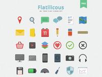 Flaticious realpixels