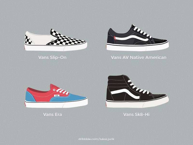 Vans Shoes vans shoes photoshop vector practice sport skate icon