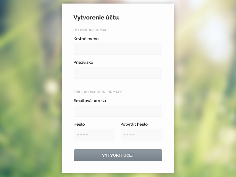 """Simple as that"" registration form ui ux registration form simple minimal"
