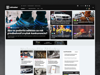 Refresher Homepage Redesign