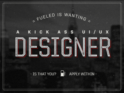 Fueled dribbble designer