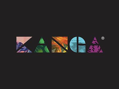 Kanga logo type imagery brand