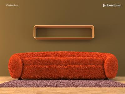 Furniture Design / Render malmo stockholm sweden couch visualization architecture 3dmodeling 3d 3dsmax vray design furniture