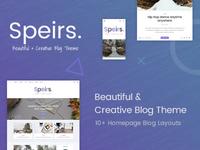 Beautiful blog theme