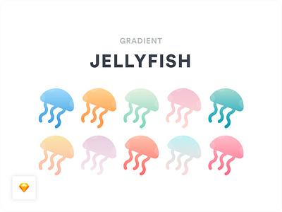 Gradients [Freebie] jellyfish pastels pastel colours pastel color gradient color gradient design gradients gradient