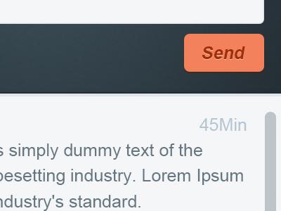 Chat UI chat comments messages ui ux